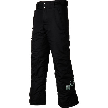 Ski Now that your boys following his big brother around in the snow you want to set him up with the Columbia Bugaboo Pant. These insulated snow pants will keep him warm while hes keeping up. - $48.97