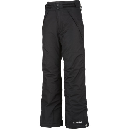 Ski You got your son started with sliding on snow at a young age, so now you're duty-bound to support his obsession and ensure he's dry, warm, and stylish with the Columbia Boys' Ryder Warmth Pant. - $56.97