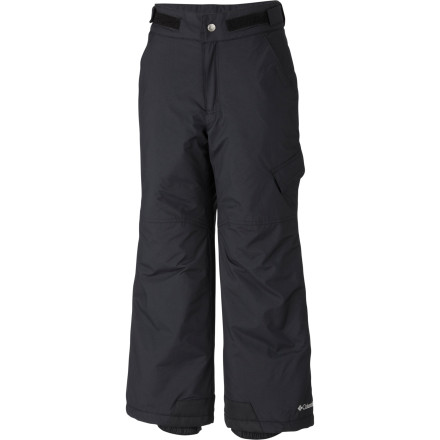Ski From snowboard lessons to sledding sessions, your boy layers up in Columbia Boys' Ice Slope Pant to stay warm and dry. The style may be relaxed and easygoing, but the waterproof shell and 140g Slimtech insulation are all business. - $32.47