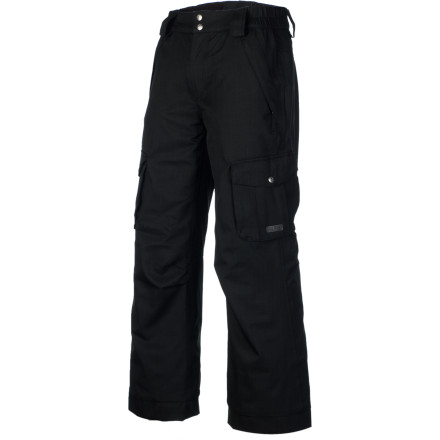 Ski Send him outside in the Paul Frank Boys' Skurvy Insulated Pant, because storming that snow fort and ruling supreme as king of the hill isn't as much fun if he's freezing and wet. Plus, the cool styling gives him the extra swag he needs to rock the playground or the ski hill. - $38.48