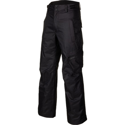 Ski Whether your skier-grom is busy perfecting his park and pipe skills, ninja-pole fighting with his bros on the slopes, or stuck helping the big man shovel the walkway, the Rossignol Boys' Cargo Pant keeps his legs warm, dry, and protected from lightly falling snow. - $79.96