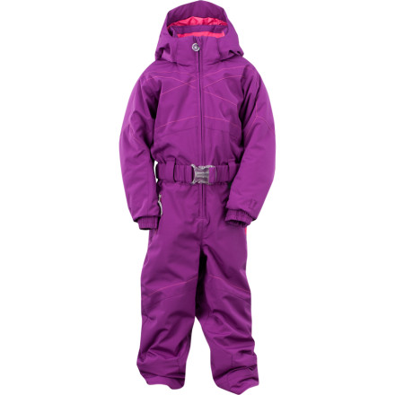 Ski Equip your little snow bunny with the Spyder Little Girls' Bitsy Sassy Suit and watch how she tackles powdery slopes and crushes hearts with her cuteness. Packed with ThermaWeb insulation throughout, the Sassy keeps her warm, while a microfiber brushed inner collar provides comfort from the lift to the lodge. - $134.96