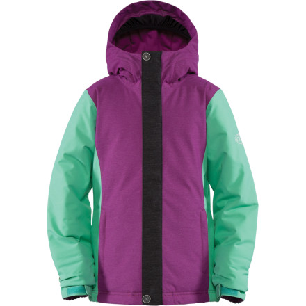 Ski The Bonfire Girls' Paisley Jacket keeps the young shredders warm, dry, and styled out with lively looks. Zonal insulation allows for natural movement while Bonfire's DryLevel 1 provides the waterproof characteristics you demand. - $51.98