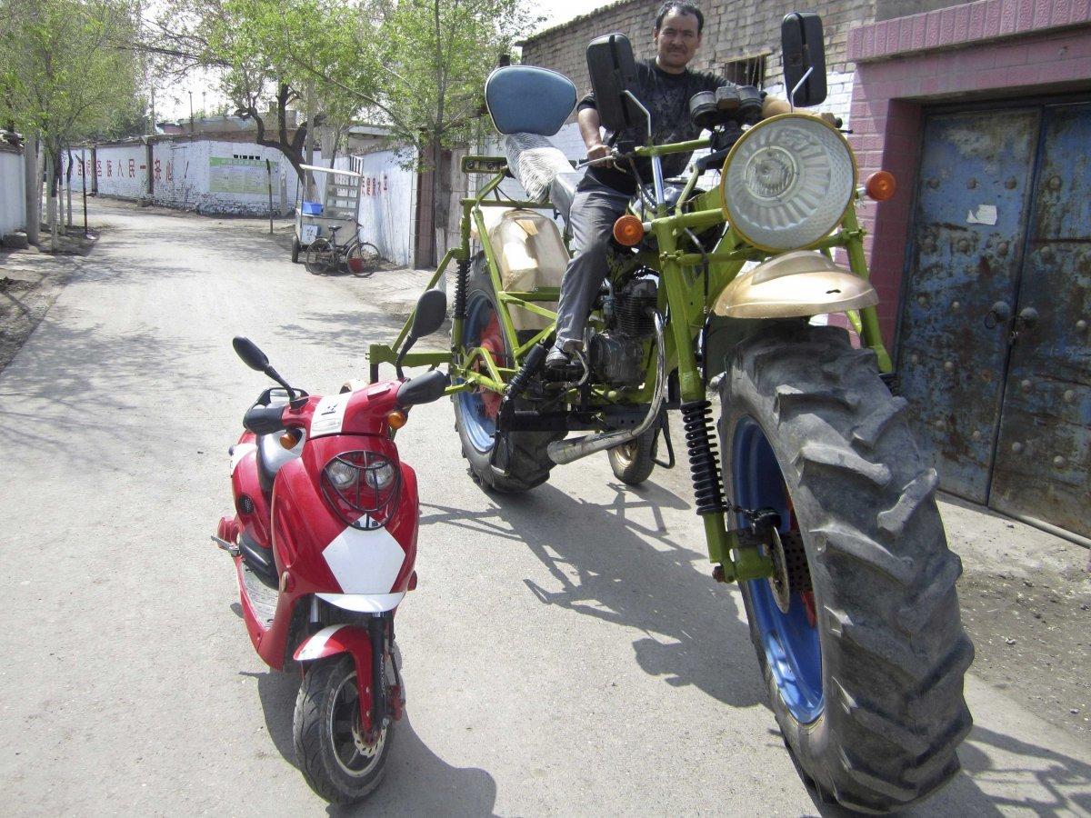 custom super-cycle. - Thrill On