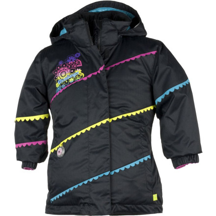 Ski It's easy for your gal to be in her happy place when she has on the Obermeyer Girls' Zen Jacket. Equipped with Permaloft insulation, the Zen keeps her snug and warm on chilly days out on the school playground or on the slopes with the fam. Obermeyer also gave the Zen a HydroBlock coating to help fend off fat, fluffy flakes and accidental spills of hot cocoa in the warming hut. - $83.67