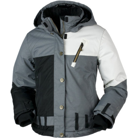Ski The Obermeyer Girls' Lighthouse Jacket covers your mountain and around-town comfort needs. Equipped with warm insulation, a removable hood, and a slightly-shaped fit, the fresh-looking Lighthouse wears well on bluebird resort ski days, to and from school, and on winter outings with your friends. - $98.67