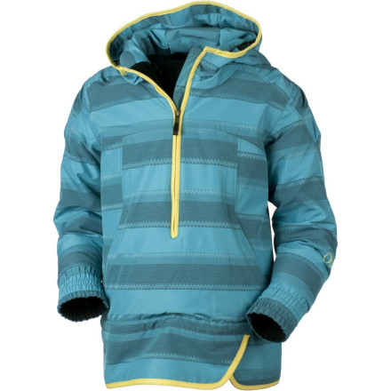 Ski On a sunny bluebird, day pull on the Obermeyer Girls' Revival Jacket, your snow pants, hat, and gloves, and head to the park for a fun day of sledding. This stylish pull-over jacket features cozy Permaloft insulation to keep you warm. - $89.67