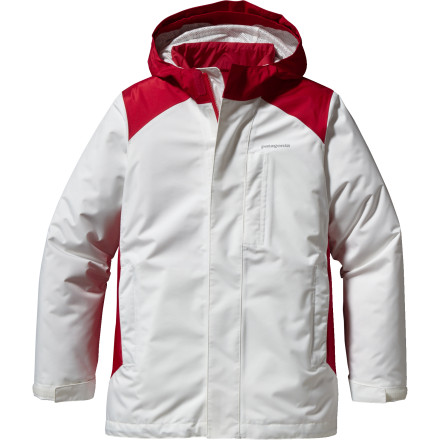 Ski Why lug multiple jacket with you on your family ski vacation when the Patagonia Girls' 3-in-1 Jacket covers all your bases' Thanks to its chic zip-out liner, you have three different jacket options to combat cold snowy days to sunny bluebird skies. - $137.40