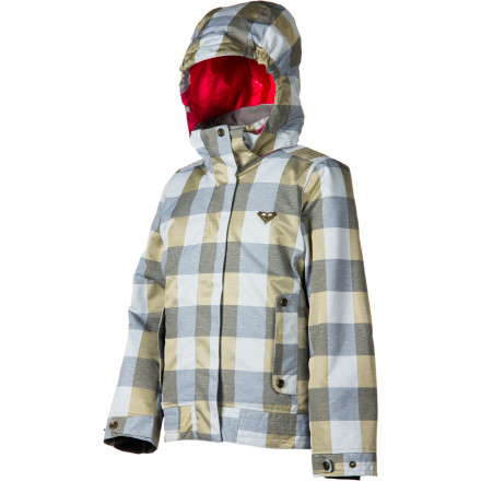 Ski Protect yourself from the elements with the Roxy Torah Bright Orchard Girl's Snowboard Jacket. To be as good as Torah Bright someday, you can't let a little extra-cold weather keep you from getting out there and riding. That's why the Orchard has 200g insulation to keep you cozy so you can shred all day. - $87.50