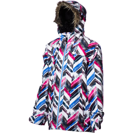 Ski Your girl may not have her turns completely down just yet, but she'll have the look nailed when she rides in the Ride Girls Malibu Jacket. Stylish and packed with both toasty insulation and shred-friendly features, the Malibu will have her out on the hill putting in the practice it takes to get riding the white wave and loving it. - $27.99