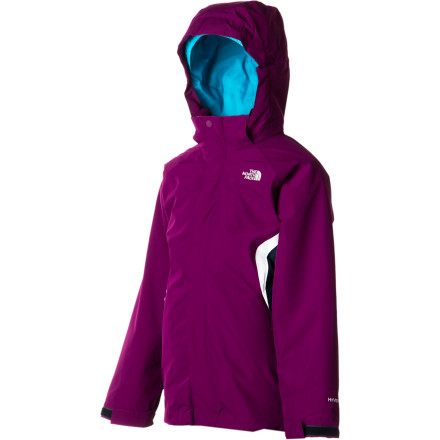 Ski Rest assured that your little girl will be well protected from the elements as she rockets down the mountain while wearing The North Face Girls' Boundary Triclimate Jacket. Constructed with waterproof breathable HyVent fabric and designed to adapt to different weather conditions, the Boundary Triclimate provides a cozy barrier between her and the storm outside. - $93.47