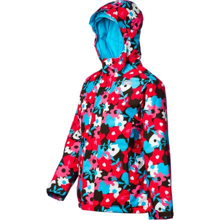 Ski Your girl will be hard to miss on a cold, gray winter's day when she's dressed in the colorful, toasty The North Face Denay Insulated Jacket. The sizzling print on the HyVent 2L shell might actually help the Heatseeker Aero insulation work just a little better by brightening the world around her. - $83.97