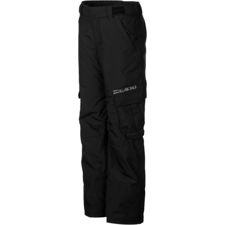 Ski The Billabong Girls' Beobble Pants give her the clean style she wants and enough weather protection to keep her feeling good when she rides the resort. These snowboarding bottoms are versatile and tough so she can rock them hard from the park to the groomers. - $49.98