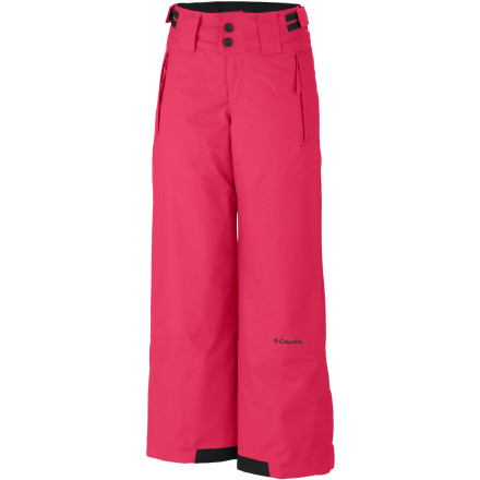 Ski Inevitably your daughter is going to grow, and soon enough she'll need a new pair of snow pants. Luckily Columbia was thinking of your wallet when they offered up the Crushed Out Pant. This stylish ski pant is affordable, and with an adjustable grow cuff it is built to fit your girl for more than one season. - $35.97