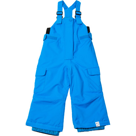 Ski When your little snow monster gets into the Roxy Little Girls' Breeze Bib Pants, her legs will stay warm dry whether she's following you down the bunny hill or making snowmen in the backyard. Plus, the clean style and the asymmetrical button placket keep your baby girl looking cute on and off the mountain. - $54.00