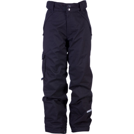 Ski Take aim at the cold resort weather with the Ride Girls Dart Cargo Insulated Pant. Your girls' day is wired for success when she's wearing this extra-warm, water-resistant pant with clean shred style. - $43.98