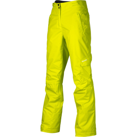 Ski The Rossignol Girls' Cargo Pant keeps your young ripper gal warm and dry so she can ski from bell to bell. Synthetic insulation keeps her wicked comfortable while the freeride style gives your gal a chill look without being overly baggy. - $79.96