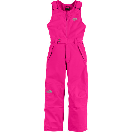 Ski Ski or snowboard lessons can involve a lot of contact with the snow, but your determined beginner can stick with it with the help of The North Face Girls' Snowdrift Insulated Bib Pant. The bib design and waterproof breathable HyVent 2L shell with fully taped seams keep the snow out of her inner layers so she'll continue to pick herself back up until she masters those first turns. - $84.47