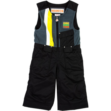 Ski The Obermeyer Toddler Boys' Chill Factor Bib Pant has everything your little guy needs to combat the cold while he gets a feel for his new skis or sleds big drifts in the front yard, and the I-Grow system keeps up with his mid-season growth spurts. - $59.67