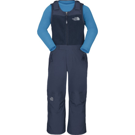 Ski When Old Man Winter brings his worst, do you best to keep your little walker warm and dry, starting with The North Face Toddler Boys' Snowdrift Insulated Bib. Even if a big storm stops traffic and closes schools, he needs to get outside and play. - $59.37