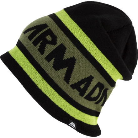 Entertainment The Armada Tri Jaq Beanie loves it when you take it for rides in that deep, slash-happy, white stuff. - $17.96