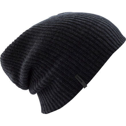 Ski Top your skull with the Burton Truckstop Beanie and slip into the neon-lit highway diner for some bacon-wrapped corndogs and sausage-stuffed chicken topped with cheeze sauce and corn chip crumbles - $7.77