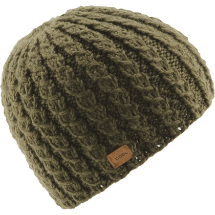 The snug-fitting Coal Mini Beanie gives you wicked warmth and style. Coal knit the silky acrylic fabric into mini cables that hug your head so your beanie won't fly off when you're cruising downhill. - $14.97
