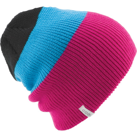 Snowboard Killer whales love the Coal Frena Beanie for its ample warmth, knit-ribbed texture, and intimidating savoir-faire styling. Yep, nothing like a fine, knit-rib texture to lure the seals in for a deliciously fattening meal. - $13.97