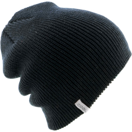 Snowboard Wear the Coal Frena Solid Beanie to relax and mellow out. Simple design and cool colors make for a good low-profile hang, while the just-in-view Coal tag shows you're still in the loop. - $19.95
