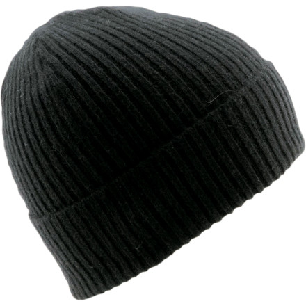 Entertainment The Coal Considered Jameson Cashmere Beanie may not be quite as effective as nip of firewater for warding off the chills, but it's better for your liver. This classic rolled-cuff cap features silky cashmere and hand-finished darts at the top for a finish as smooth as a sip of fine whiskey. - $84.95