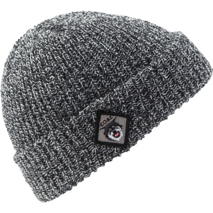 Coal added a wolf patch to the side of the Scout Beanie so you can give this hat to a buddy and add him or her to your pack. Fine acrylic material feels buttery smooth and the cuff-style shape gives a nod to the watch caps of yesteryear. - $19.96
