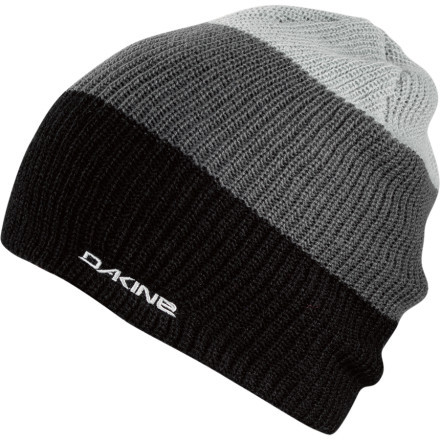 Entertainment The DAKINE Lester Beanie's slouchy slacker appearance is sneaky. What it's hiding is a hard-working, double-lined savior for your ill-equipped skull when the mercury takes a dive. - $20.00