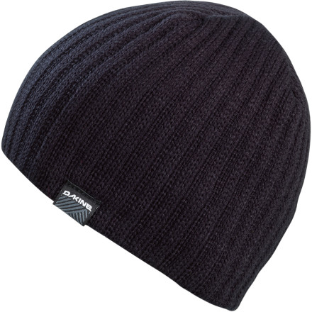 Snowboard Since your not-so-sharp road trip companion forgot to fill your van's propane, you're forced to sleep wearing your lined DAKINE Vert Rib Beanie to add warmth to a grape-freezing night in the mountain's parking lot. - $11.97