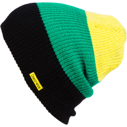 Stash the Discrete Lexic Beanie into your backpack and you're all set for crashing in the airport during your layover. Its cozy knit fabric cradles you to sleep, so you're ready to go as soon as you reach your final destination. - $12.97