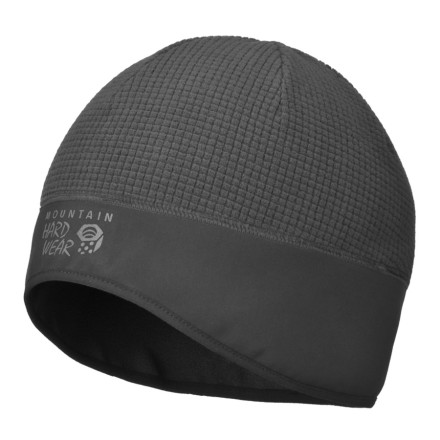 Entertainment Mountain Hardwear wasn't going for 'cute' when it designed the Nakaya Dome Beanie, 'warm' was the number one goal. The Nakaya is made from windproof breathable Gridiron Fleece which deflects nature's most insidious cold-air attacks while allowing your head to breathe and regulate its temperature naturally. The fleece-lined ear-band covers your ears completely, and the high visibility tonal reflective print at the front of the beanie makes it impossible to be mistaken for a deer by passing hunters. - $29.95