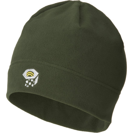 Entertainment The Mountain Hardwear Micro Dome Beanie is extremely thin and lightweight. This makes it ideal for use under a helmet or hood. Made with tried-and-true 100 weight Polartec fleece, the Micro is super warm for how compact it is. - $12.57