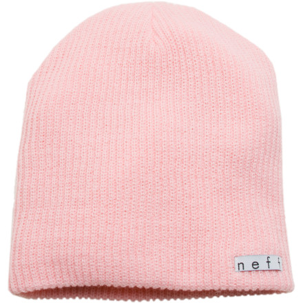 Entertainment Wear the Neff Daily Beanie every day. This rib knit acrylic hat features timeless, no frills styling so it looks good no matter what youre wearing and doesnt get old after repeated wears. - $15.95