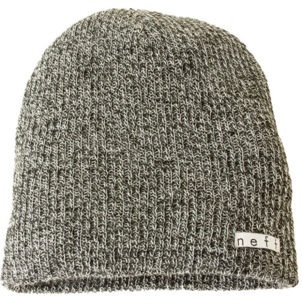 Skateboard The Daily Heather Beanie from Neff keeps your head and your ears warm whether you have a long mess of locks or a smooth, shiny shaved head. And since your little incident in prison, maybe its better to just keep it short. - $17.95