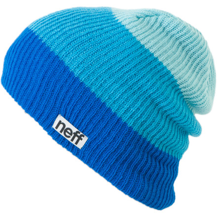 Entertainment Most of the time, when you buy a beanie, you get one color. It's standard. Once in a while a company will throw in a second color. That company is undoubtedly taking a loss on this transaction. They're saying 'here ya go, BAM, free color!' Neff takes it to the next level with the Trio Beanie. Just imagine''two free colors! So, feel free to get a Trio. Just keep in mind, if you buy too many, you'll probably put Neff out of business. And that's just mean. - $17.95