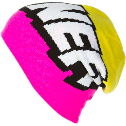 Skateboard Once you slip on the Neff Cartoon Beanie, thought bubbles being appearing over heads and a vivid POW, BANG, or POP appears as you throw down huge tricks in the park. - $15.37