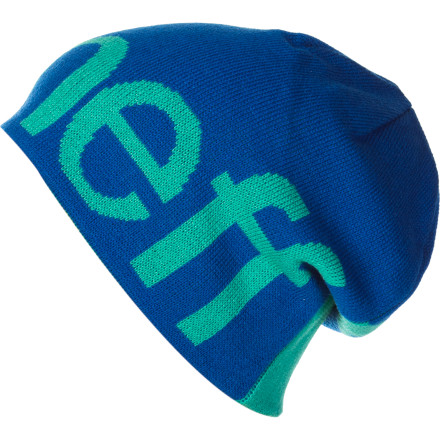 Entertainment It's hard not to smile when you wear the Neff Happy Beanie. Yeah, it's stylish and warm, but what really makes it tickle your fancy is the wee pixies running across your scalp. - $23.95