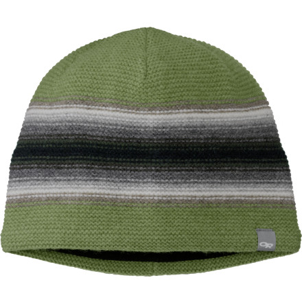Entertainment A WindStopper ear band inside the Outdoor Research Spitsbergen Hat keeps your dome toasty warm, even if youre battered by the wind while you polish a boulder project or two at Cathedral Ledge. Wool construction means rugged protection, season in and season out. - $35.95