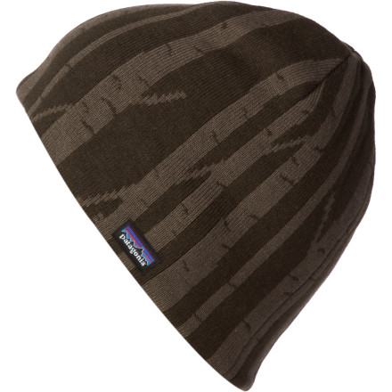 Holy shiz! It's friggin' freezing outside, so put the Patagonia Flippin' Beanie on your head for a little effin' warmth. - $23.40