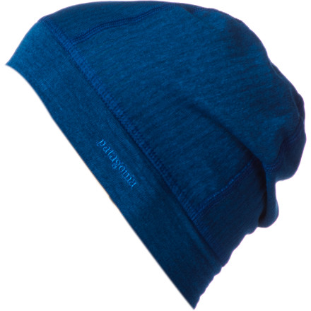The low-profile Patagonia Cap 4 Beanie and its fleecy warmth easily fit under your helmet for extra warmth on biting days. When it gets too warm, this ultralight and highly compressible beanie is easily stuffed into your pocket for later. - $16.25