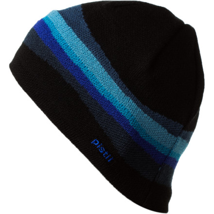 Entertainment When the cold creeps up on you just reach for the Pistil Soren Beanie. With a soft and warm acrylic and wool blend, your cranium will be plenty warm this winter. - $17.97