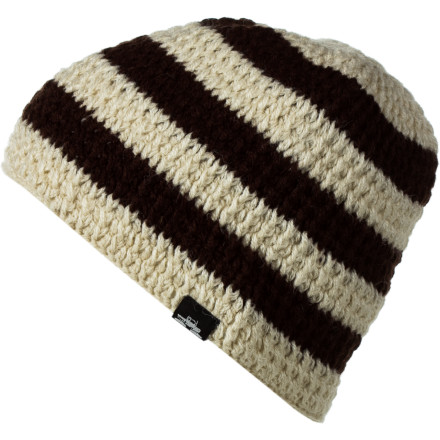 Entertainment Spacecraft cooked up the Standard Stripe Beanie to make you anything but while you work the ladies at the lodges, hang with the homies at the bars, and snuggle with Mr. Boopsy, your childhood bear, in your race car bed. - $14.97