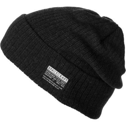 Spacecraft gave the Johnny Beanie a rollable cuff and a unique aged look. We call it 'used chic.' - $14.37