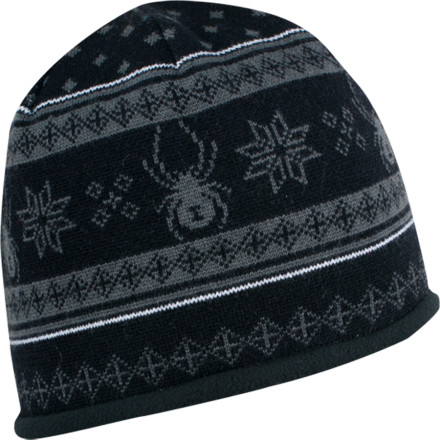 Toast an aprs pint to the Nordic gods of snow while wearing your Spyder Courmayeur Hat. This fleece-lined lid has a decidedly European flair that your American bar buddies will be furiously envious of. - $22.72