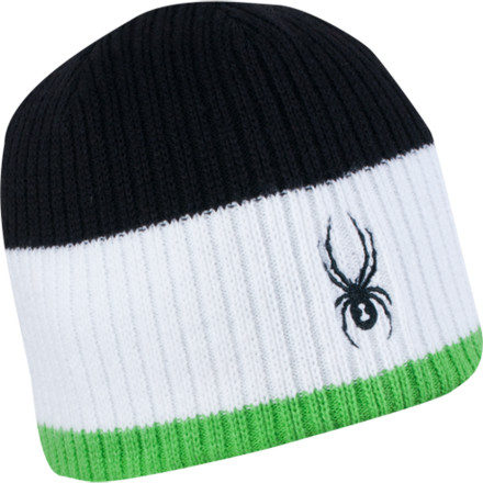 Get your relax on with the Spyder Lounge hat. Whether your tipping back a brew at the lodge or throwing down in a parking lot snowball fight, this wool-and-acrylic blend beanie features a polyester lining for supreme comfort. - $19.47