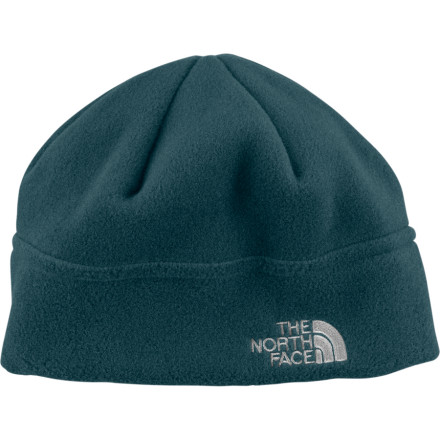 Ski Keep your brain from freezing with The North Face Flash Fleece Beanie. Cover your head with this lightweight but warm Polartec fleece beanie when you're skiing the backcountry or exploring your favorite resort town. The North Face made this beanie out of recycled fleece so you can top off your best sustainable outfit. - $15.37
